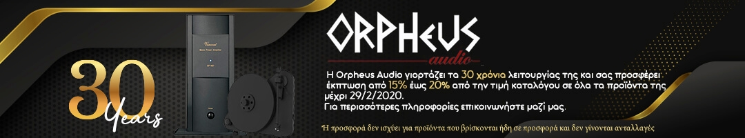 30 years Orpheus Audio Offers